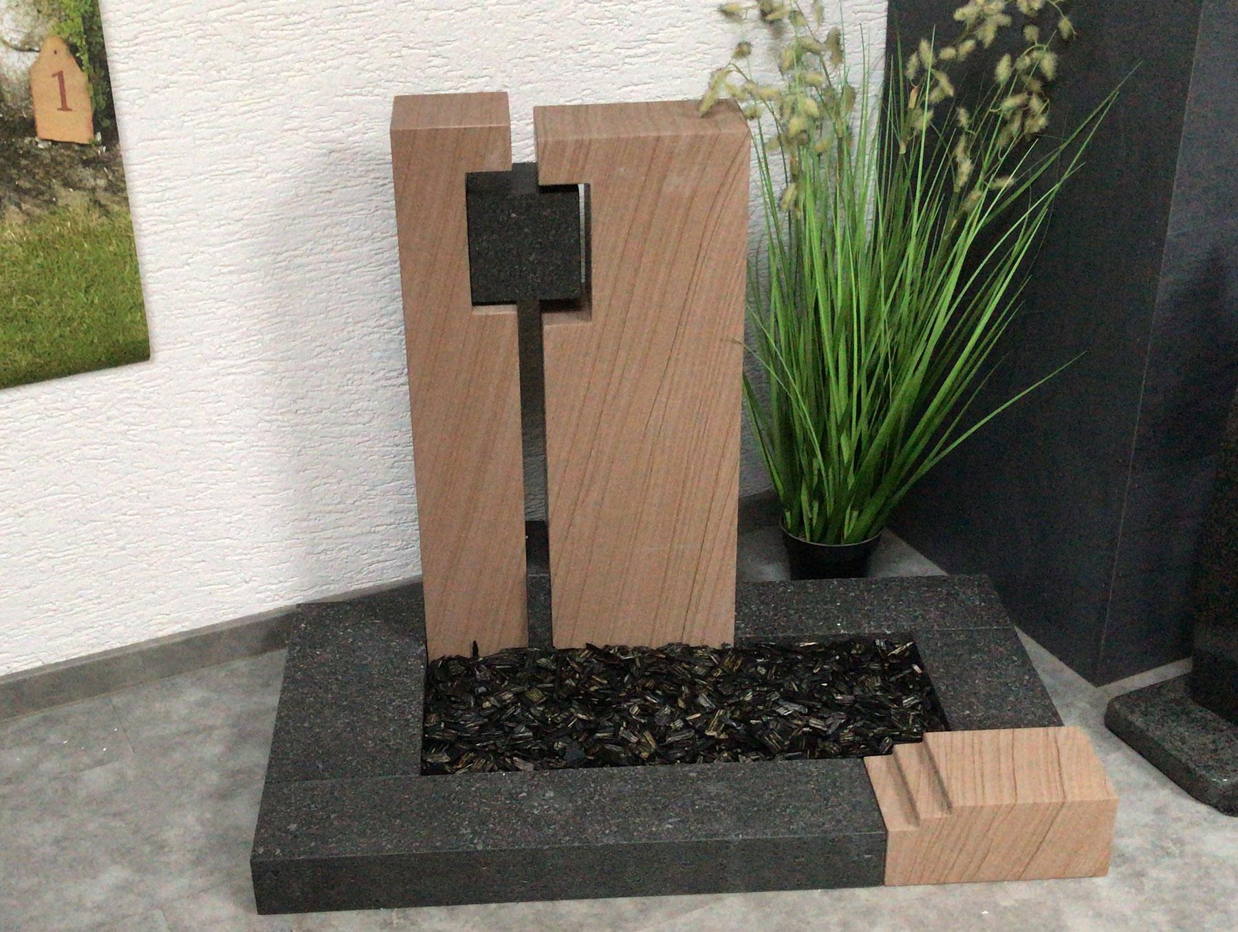 nachhaltig gefertigt aus Basalt und Sandstein aus Deutschland